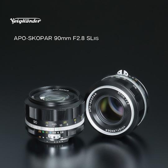 Announced: Voigtlander APO-SKOPAR 90mm f/2.8 SL II S lens for Nikon F-mount